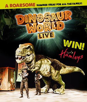 WIN a premium family ticket to Dinosaur World Live at in London!