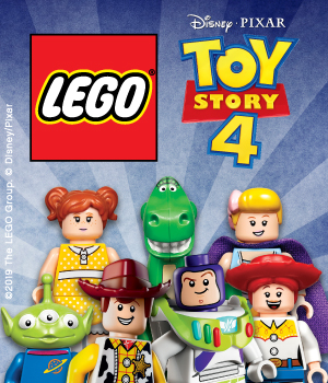 LEGO Toy Story 4 Minifigure Hunt