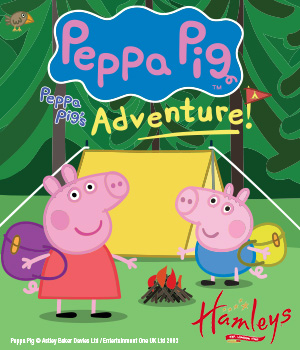 Win a family ticket to Peppa Pig's Adventure at the Theatre Royal Haymarket this Christmas!